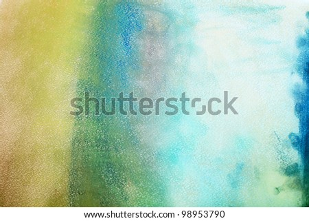 abstract pastel on paper space, art, impressionism