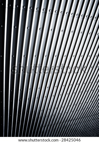 abstract pattern of metal plate