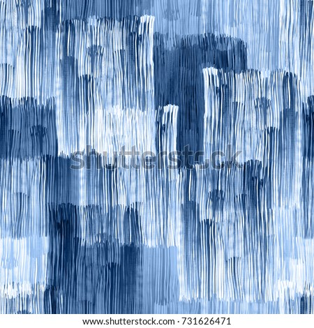 Abstract pattern stripes blue watercolour textures background geo. Watercolor geometric splash brushes digital effect overlay backdrop seamless. Blue monochrome color lines paint and drawing.