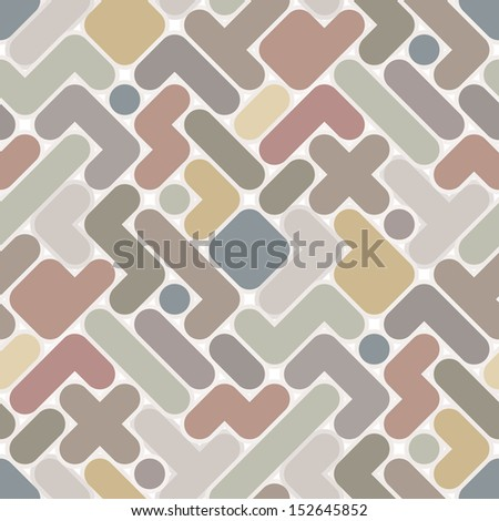 Abstract pattern - vintage seamless light color figured background