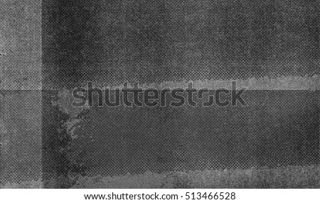 Abstract photocopy and halftone print texture