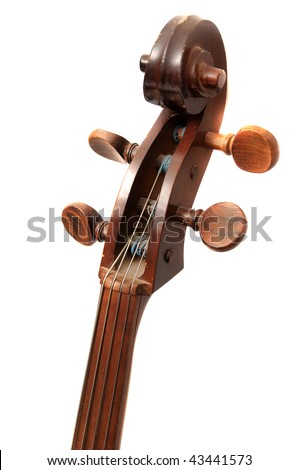 Abstract photograph of a cello which makes a great background