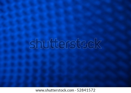 Abstract picture of blue shine