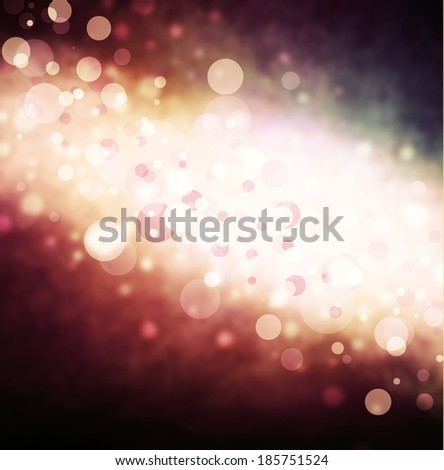abstract pink and white bubble background on black, bright stripe of bokeh lights background design, sparkles and shimmery circle shape background  - Shutterstock ID 185751524