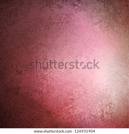 abstract pink background layout design, vintage grunge background texture, red and black frame of smudged distressed color, artsy decorative border for brochure ad or website template layout design