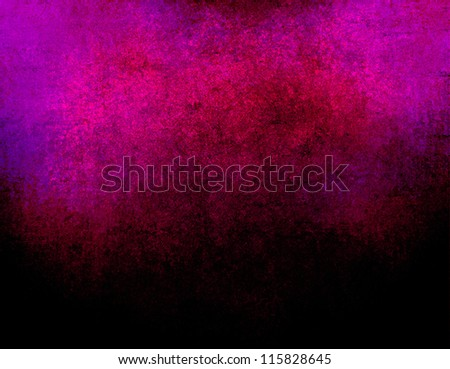 abstract pink background or dark paper with bright border spotlight and black vignette border frame with vintage grunge background texture black paper layout design for luxury purple background ad