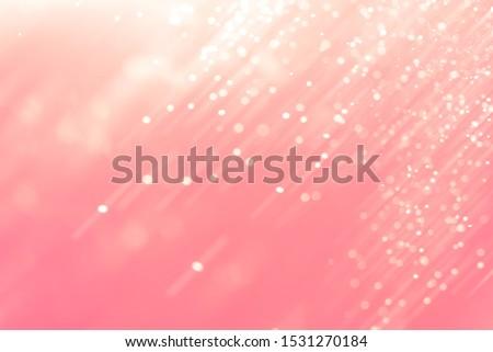 Abstract Pink bokeh defocus glitter blur background. #1531270184