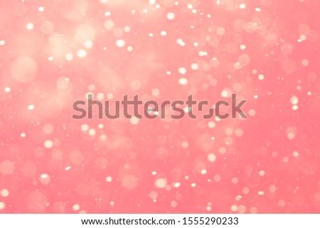 Abstract Pink bokeh defocus glitter blur background. #1555290233