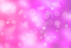 Abstract Pink Bukeh Background