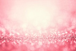 Abstract pink light for the romance background