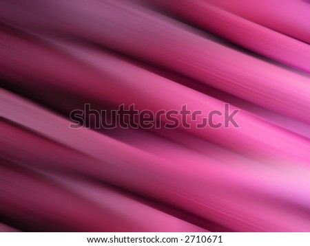 Abstract pink silky fabric background with blurred stripes.