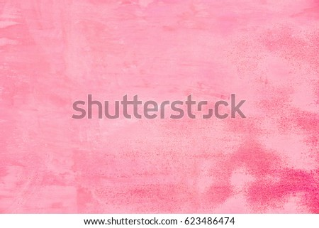 Abstract pink wall texture as background