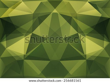Abstract polygonal background. Illustration format.