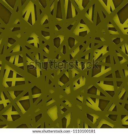 Abstract Polygonal brown background. Vector Illustration. textured background