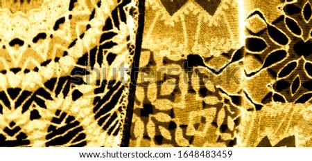Abstract Poster.Fabric Pattern. Glitter Aquarelle Print. Transparent Wallpaper. Watercolor Pattern. Yellow Tie Dye Pattern. Black Handmade Dirty Art. Dirty Art Grunge. Watercolor Texture.