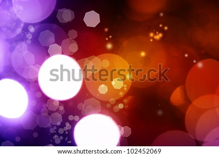 Abstract purple and orange tone background