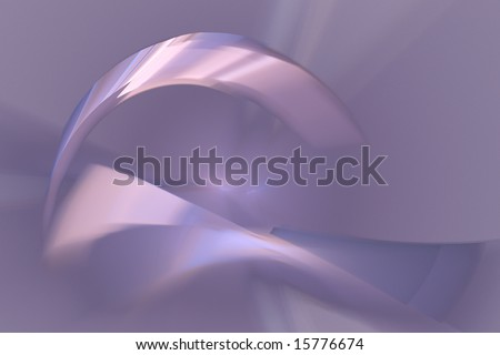 abstract purple and pink background with pink metallic curve