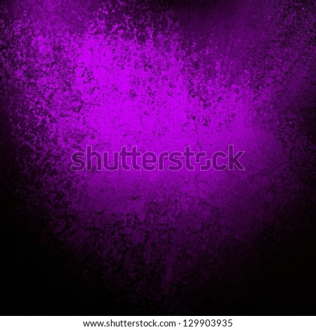 Abstract Purple Background Black Design With Vintage Grunge