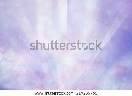 abstract purple background with bokeh lights and faint white sunshine streaks texture overlay design of rippled white paint