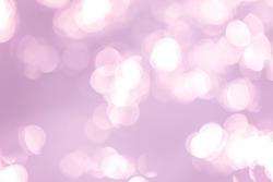 Abstract purple bokeh light background