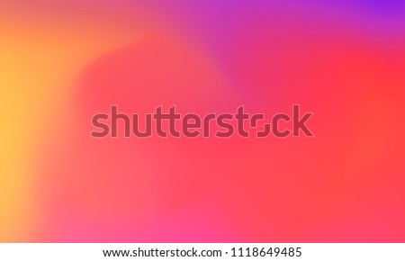 Abstract purple orange and pink soft cloud background in pastel colorful gradient.