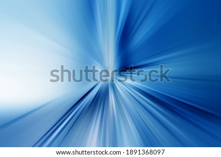Abstract radial zoom blur surface of blue and white tones. Abstract blue background with radial, radiating, converging lines.      Stock photo ©