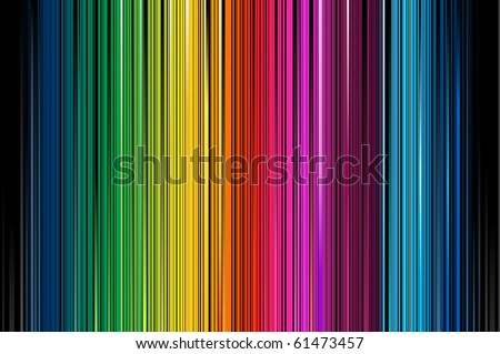 Abstract Rainbow Colorful Vertical Striped Pattern Background With Blures
