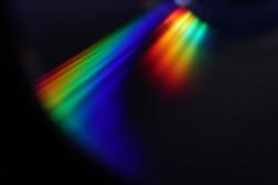 abstract rainbow light, spectrum light