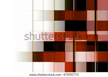 Abstract rectangles business background for use in web design or visit cards - stock photo