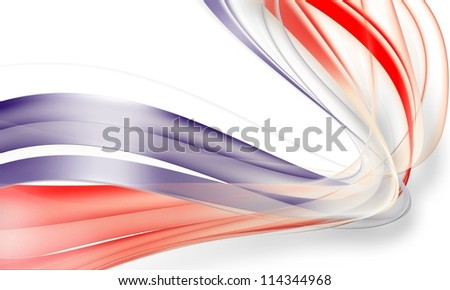 abstract  red and blue background - stock photo