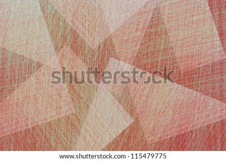 Abstract red background. Geometry.