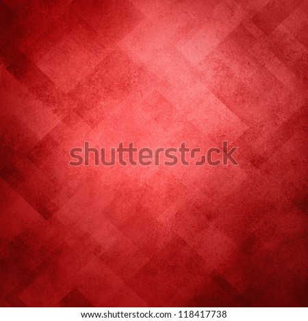 Abstract Red Background Image Pattern Design On Old Vintage Grunge Background Texture, Red Paper Diagonal Block Pattern With Geometric Shapes And Line Design Elements, Soft Luxury Christmas Background