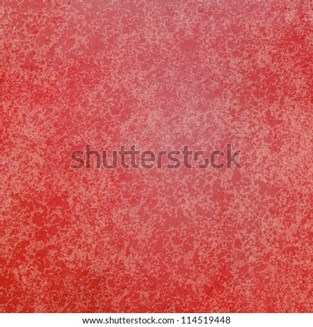 abstract red background of vintage grunge background texture design of elegant antique paint on wall for holiday Christmas background paper; or web background templates; grungy old background paint #114519448