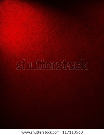 abstract red background or black background paper, Christmas color, dramatic contrast and vintage texture background grunge, dark border with corner spotlight, elegant formal background classic color