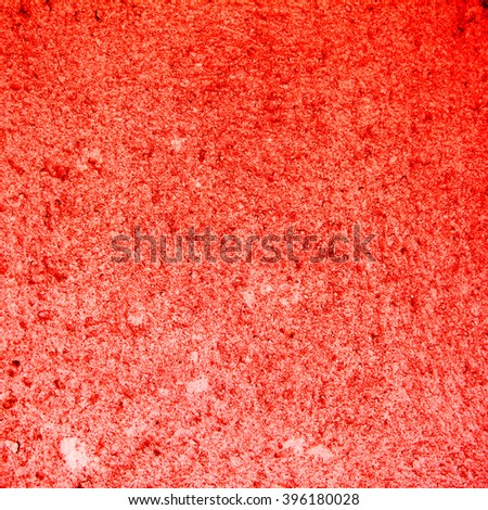 abstract red background texture old cement wall #396180028