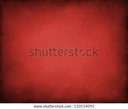 abstract red background with black vintage grunge background texture design of distressed dark gradient on border frame with red spotlight, red paper for brochure or Christmas background layout