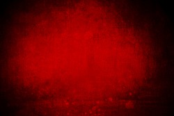 abstract red background with dark vignette frame, grunge layout