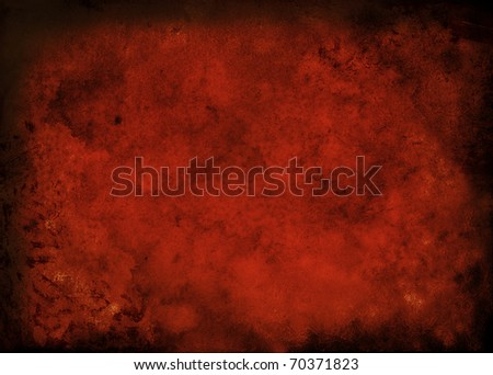 Abstract red background with detailed grunge texture