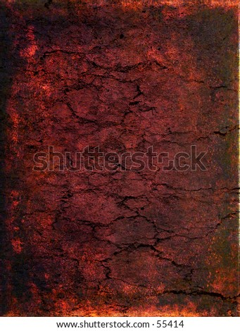 Abstract red cracked background