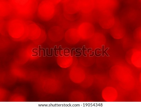 abstract red holiday lights background