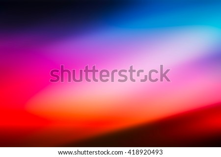 Abstract red, magenta, purple, orange and blue blur color gradient background for design concepts, wallpapers, web, presentations and prints #418920493