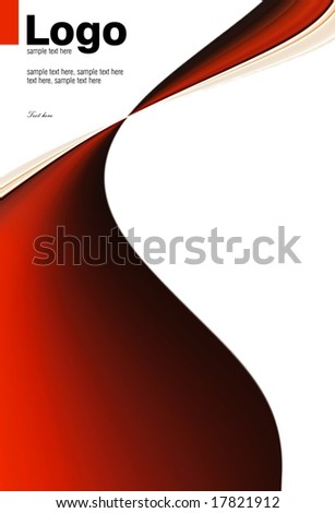 abstract red motive