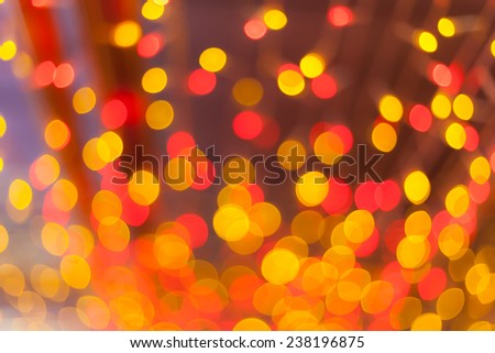 abstract red orange and red circle ball background