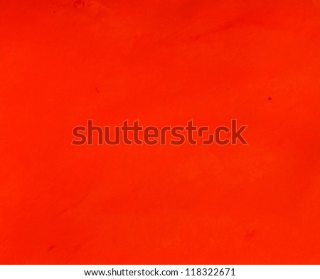 Abstract red watercolor painted background