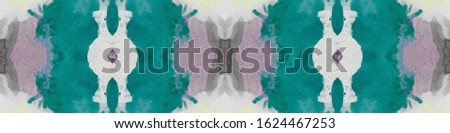 Abstract Repeatable Print. Active White Backdrop. Light Coloured Peel. Watercolor Soft Paper. Dyed Repeat Wallpapers. Weak Blue Tone.