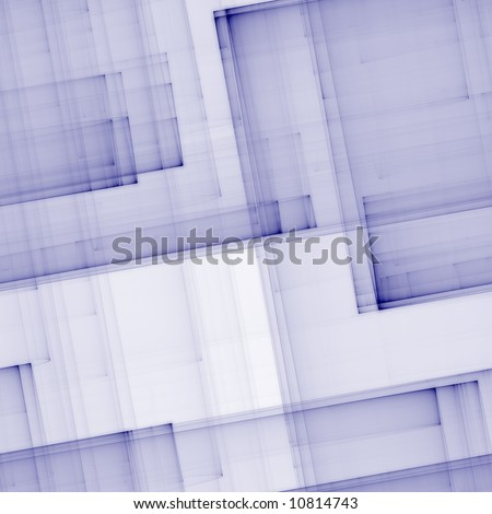 Abstract resembling folded sheets of blueprint paper (seamless pattern)