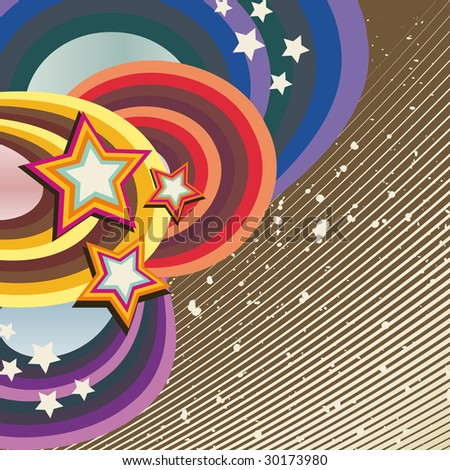 Abstract Retro background (Version vector 26693404)