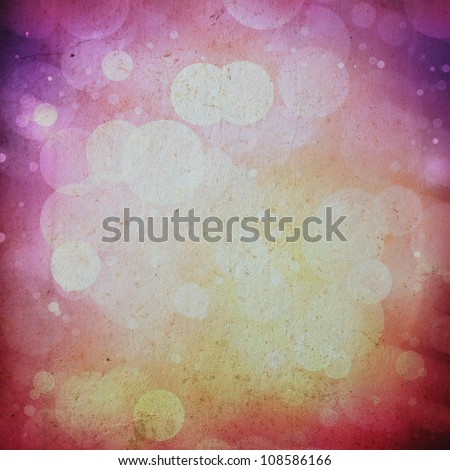 abstract retro defocused background, grunge vintage paper texture