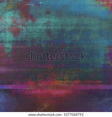 Abstract retro design composition. Stylish grunge background or texture with different color patterns