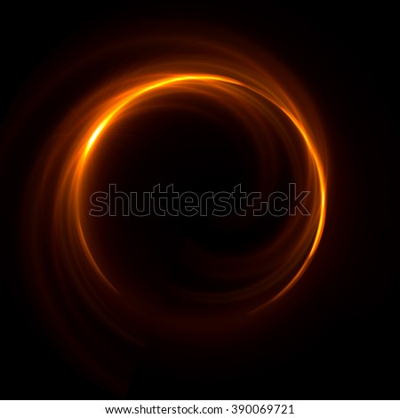 Abstract ring background with luminous swirling backdrop.  Glowing spiral. The energy flow tunnel. \ shine round frame with light circles  light effect. glowing cover. Space for your message.